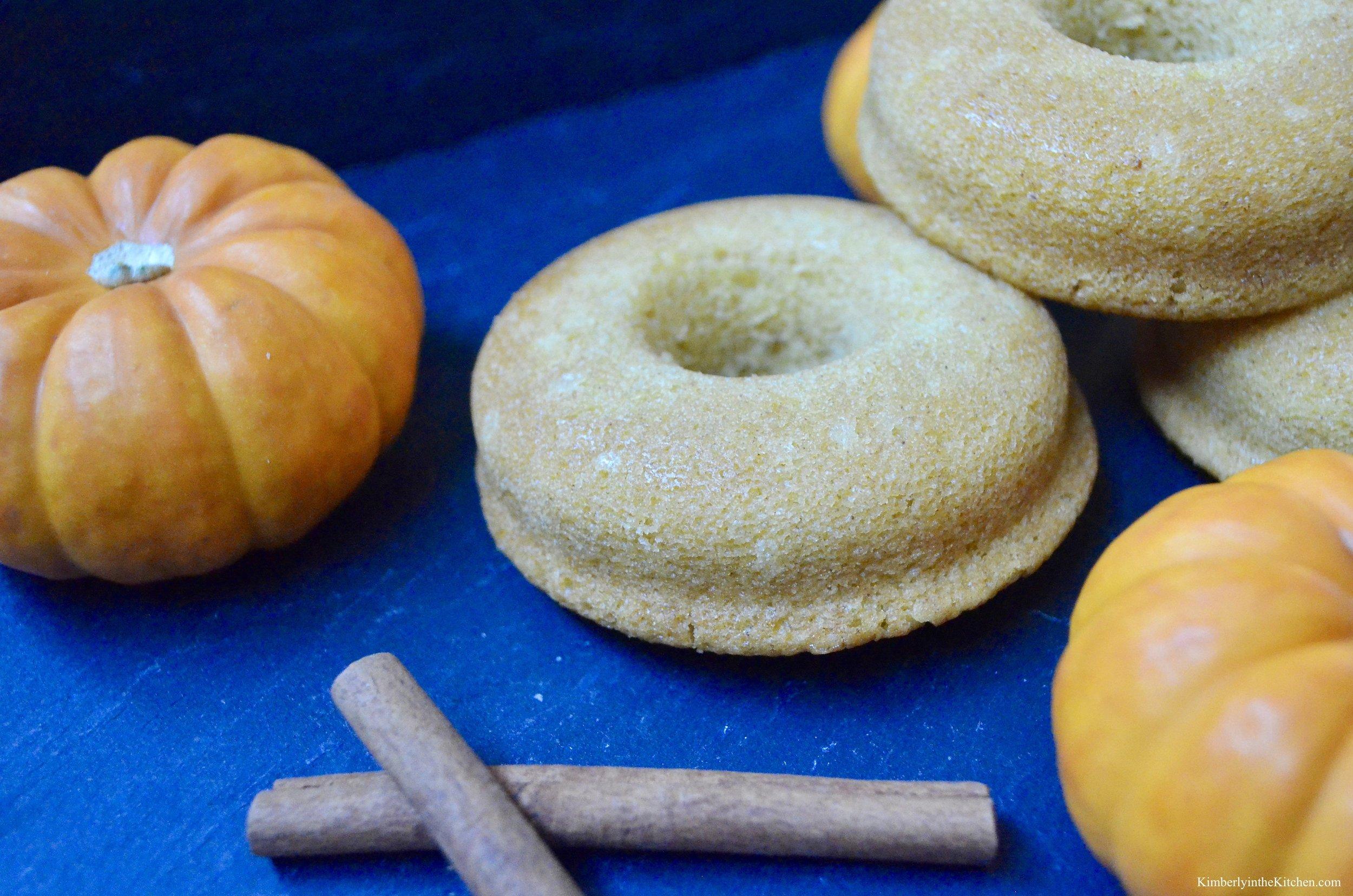 Pumpkin Doughnut 3