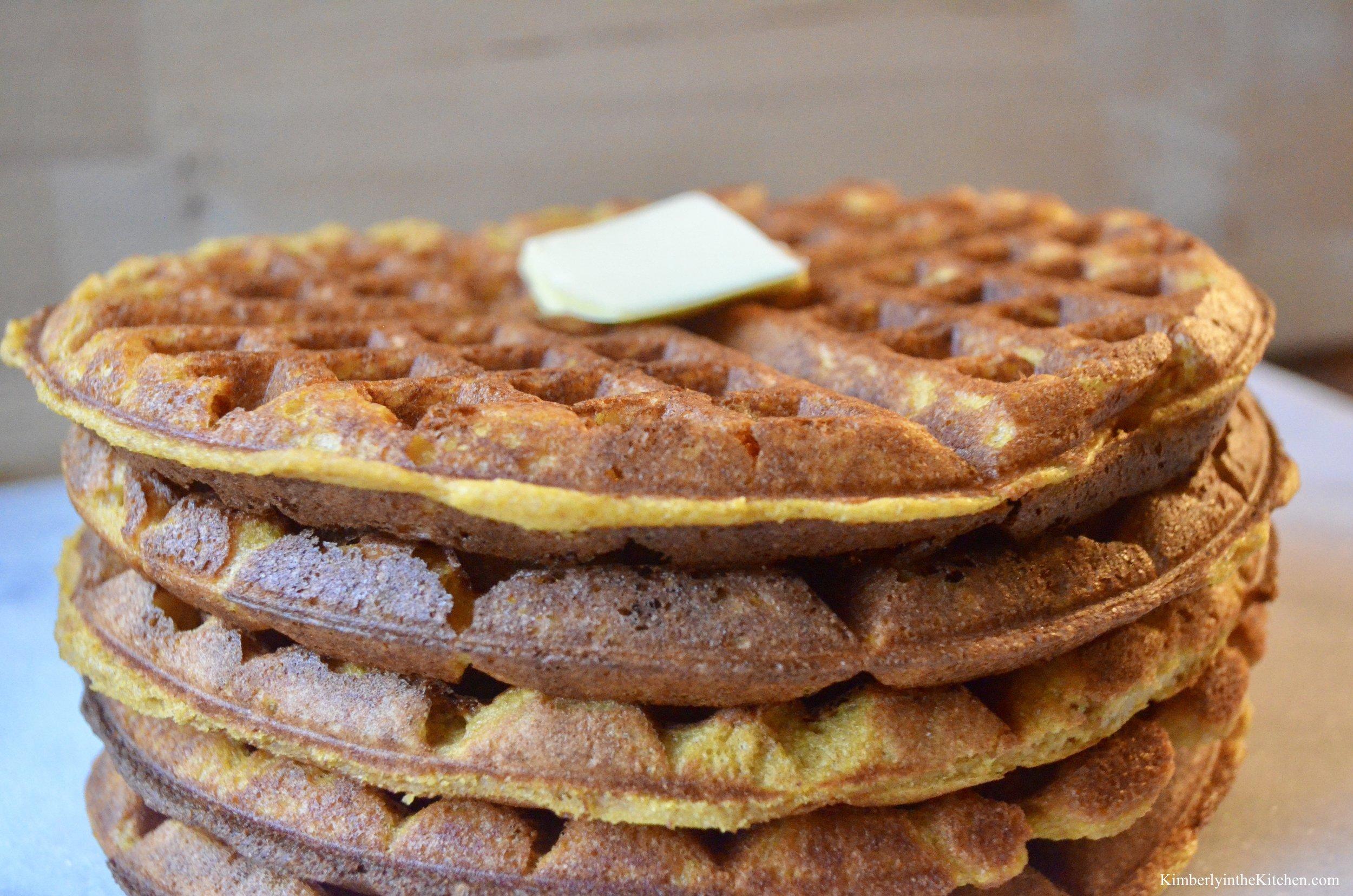 Pumpkin Waffle 3
