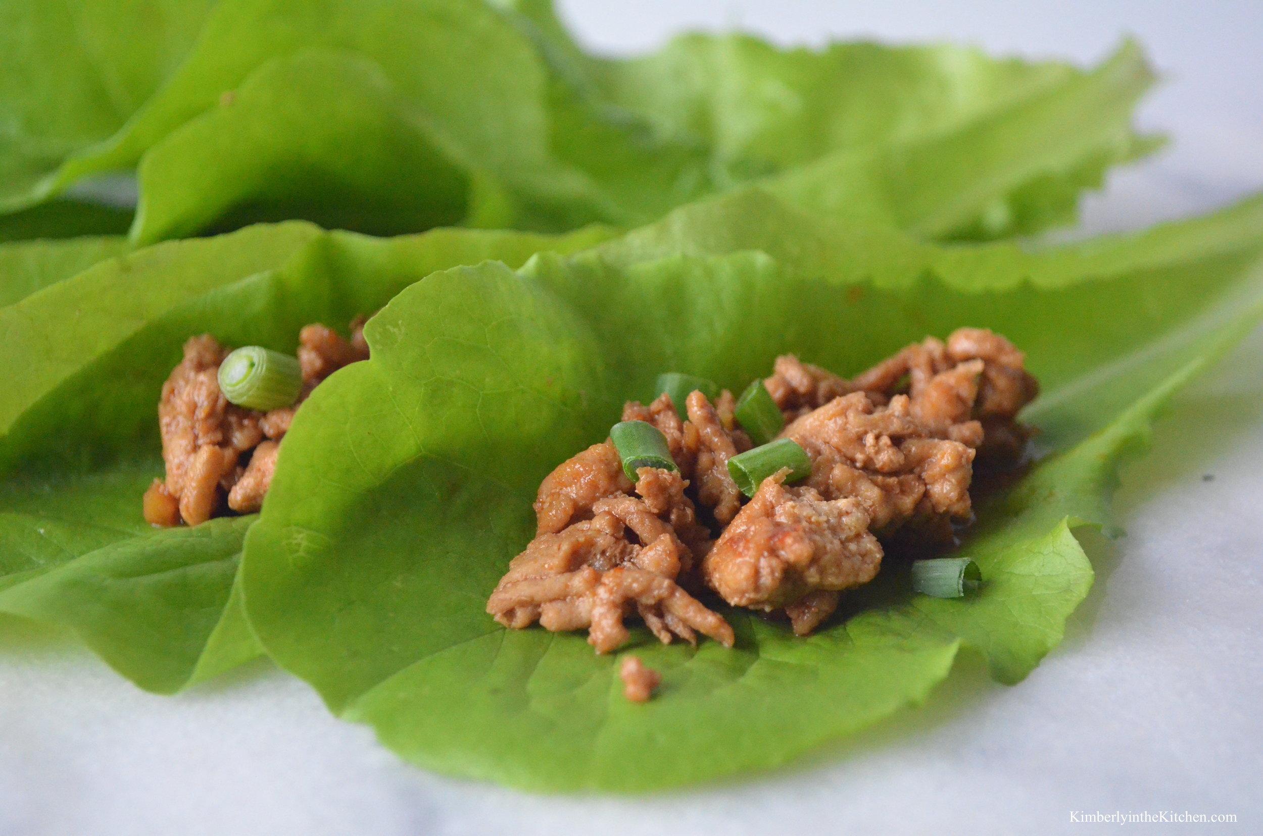 Chicken Lettuce Wraps 4