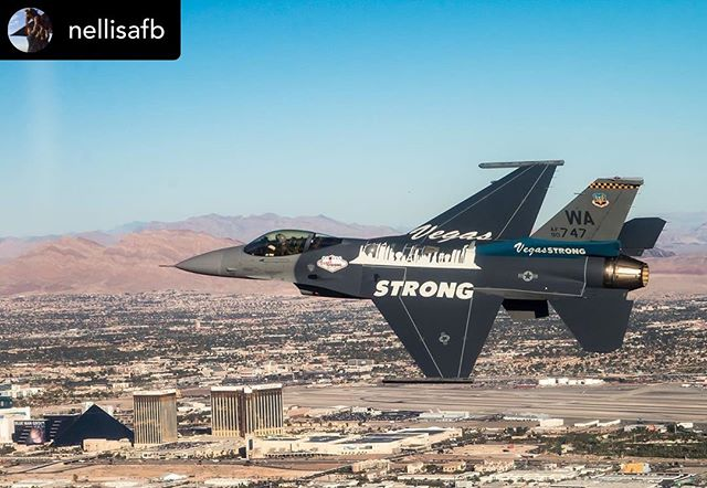 #vegasstronger ——— Repost: @nellisafb 2 years after the #Route91 shooting, we continue to remember those who lost their lives and were affected on #1October. Today our community grows closer and stronger than ever.  #VegasStrong #NeverForget
