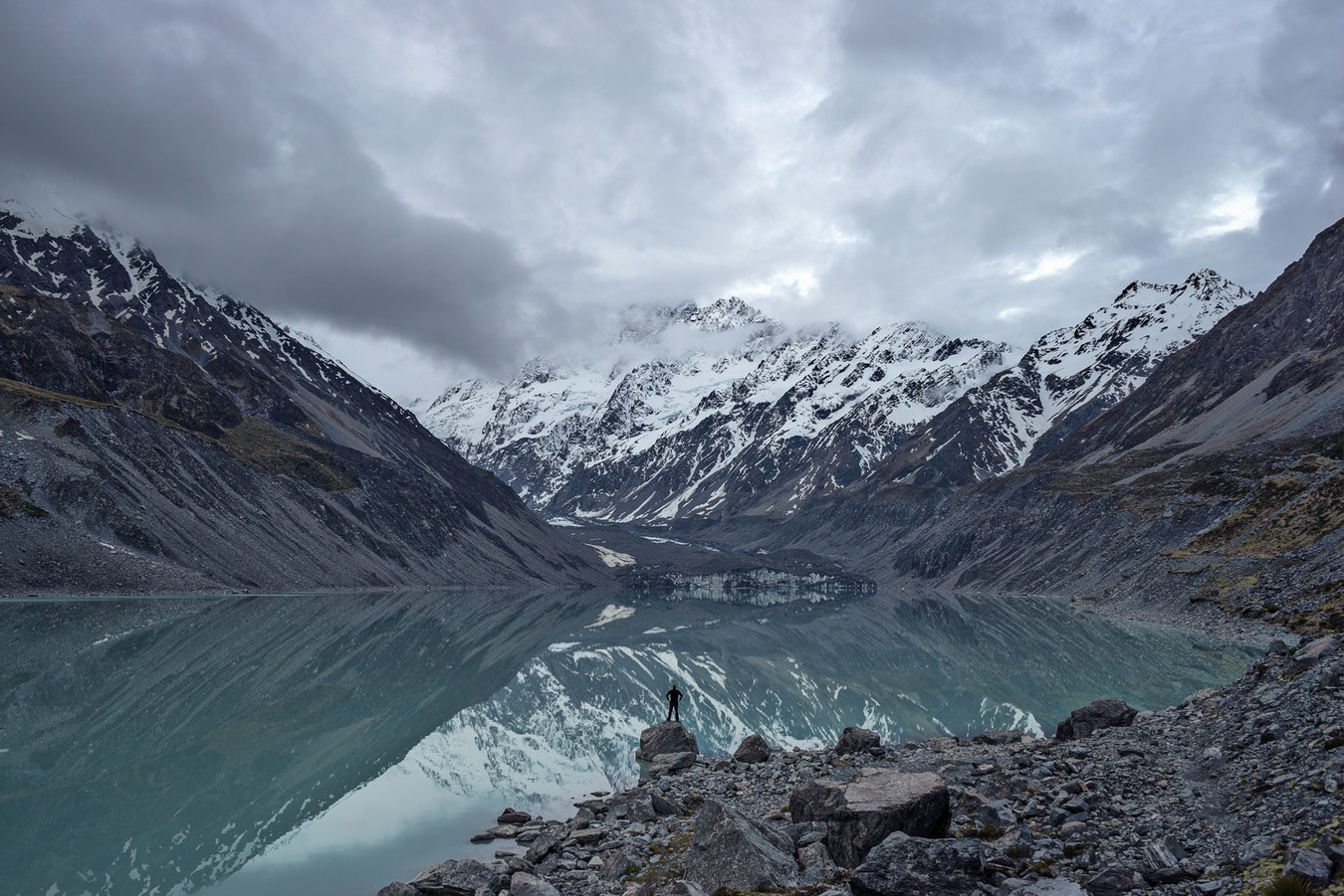 Reference photo of Hooker Lake by Andy Kerr,  link .