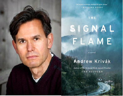 Andrew Krivák is the author of  The Signal Flame  and the National Book Award finalist, The Sojourn , which also won the Dayton Literary Peace Prize and the Chautauqua Prize. He lives with his wife and three children in Somerville, Massachusetts.