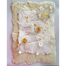 hand made paper (with poetry)
