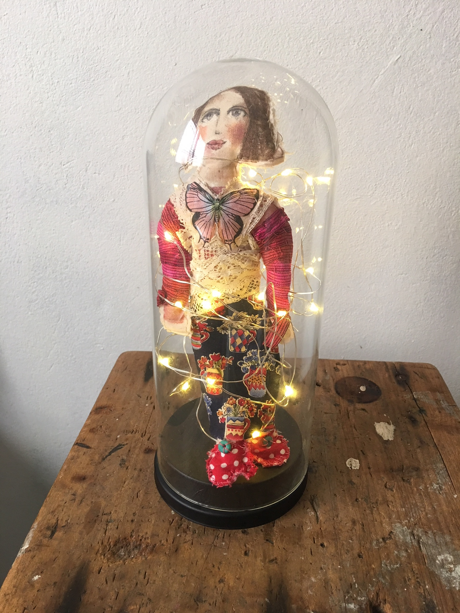 'Me' as a doll (in a jar)