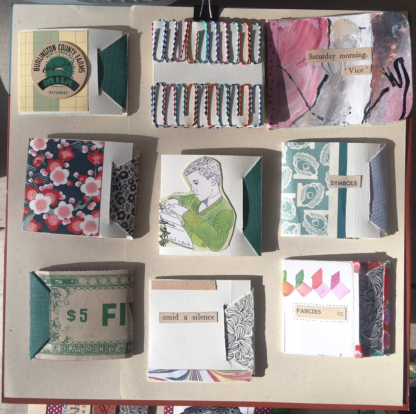 little books for exhibition