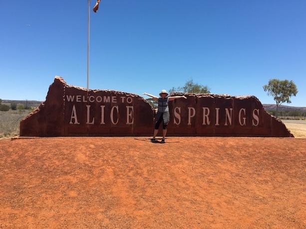 Yep, Alice Springs