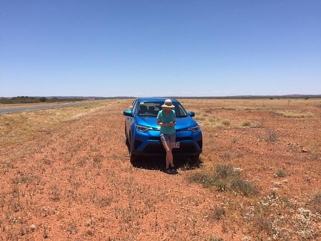 Somewhere between Alice Springs &Uluru
