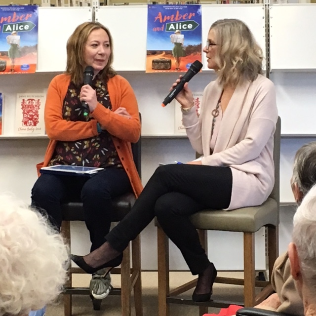 I launched Amber and Alice in June, 2017 with the help of my long-time friend ABC-TV host of One Plus One Jane Hutcheon, who interviewed me on the day.