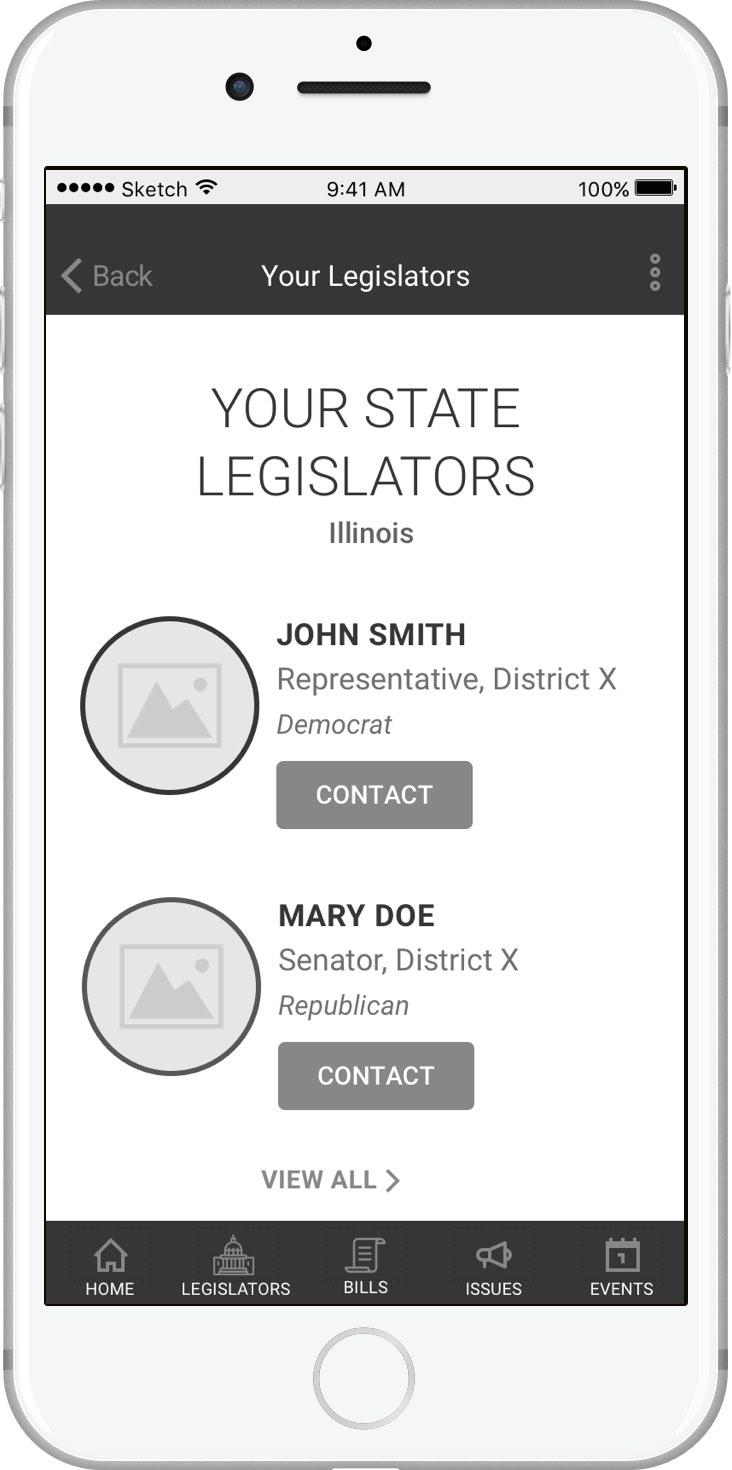 Your Legislators