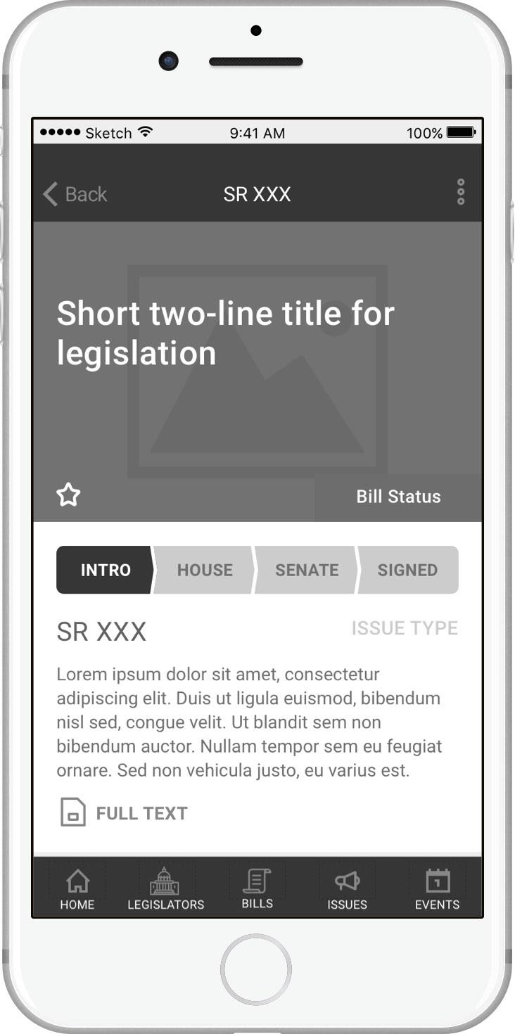 Legislation Detail