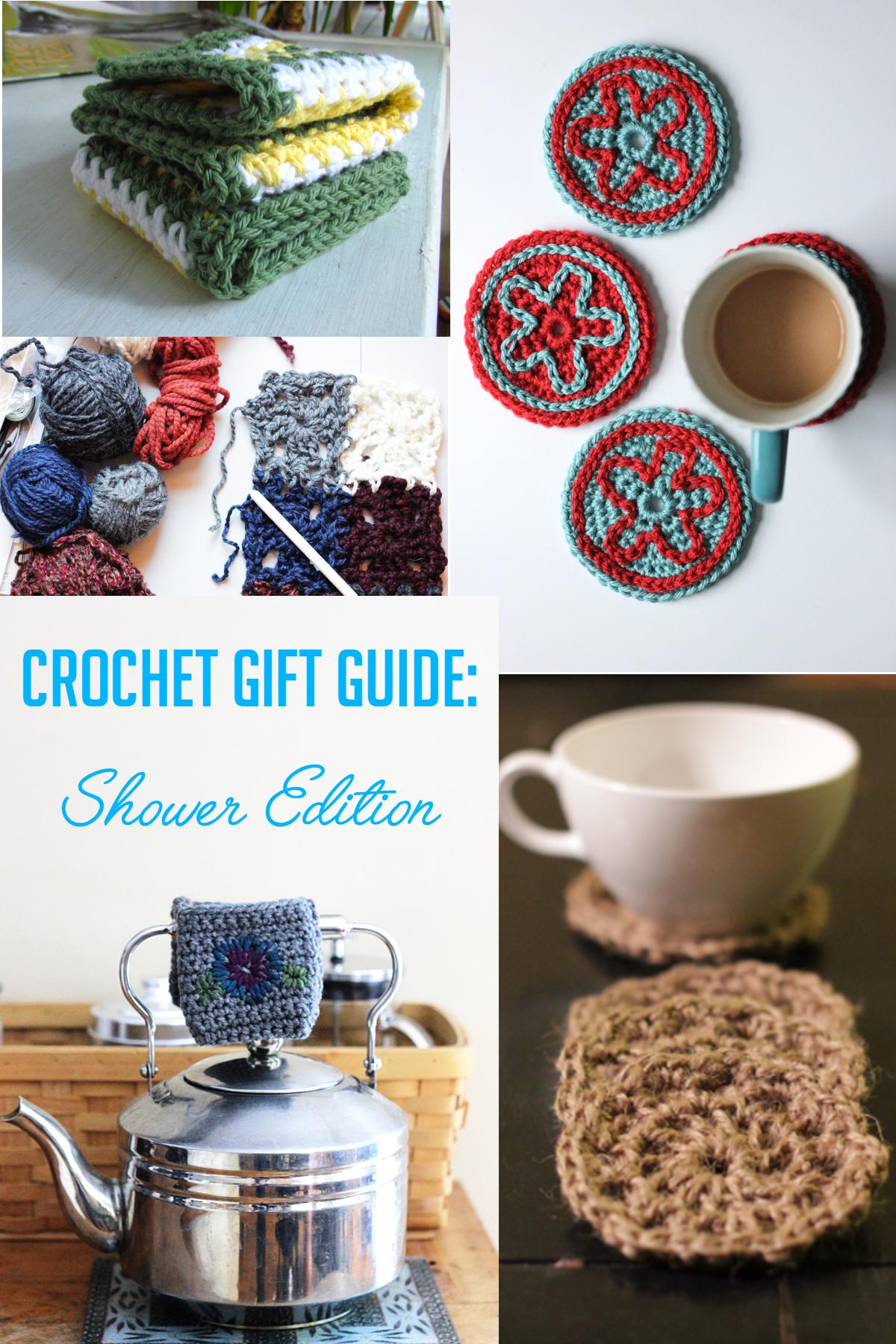 Crochet Gift Guide Shower Edition
