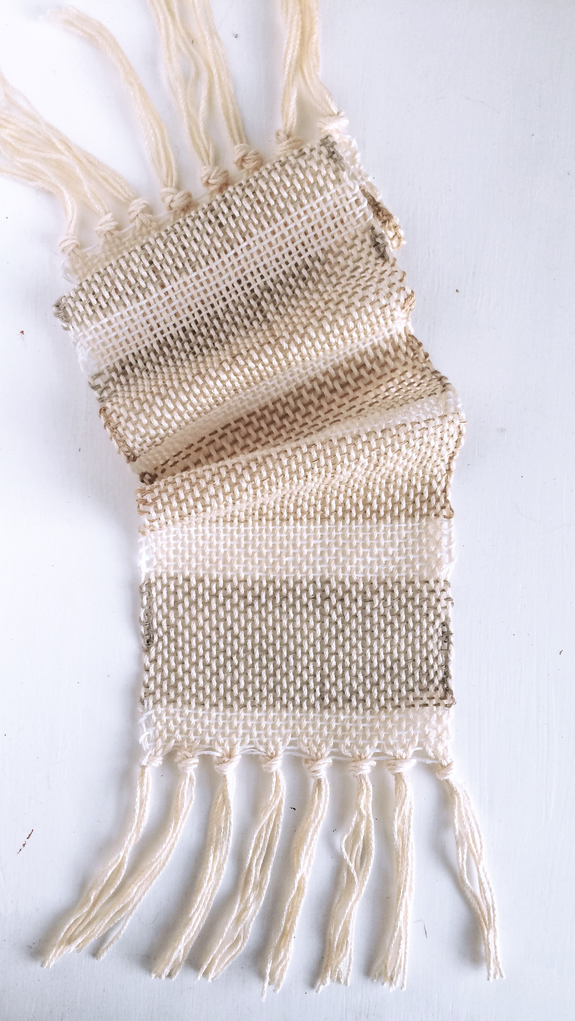 Just look at how gorgeous this is! Woven with linen and cotton.