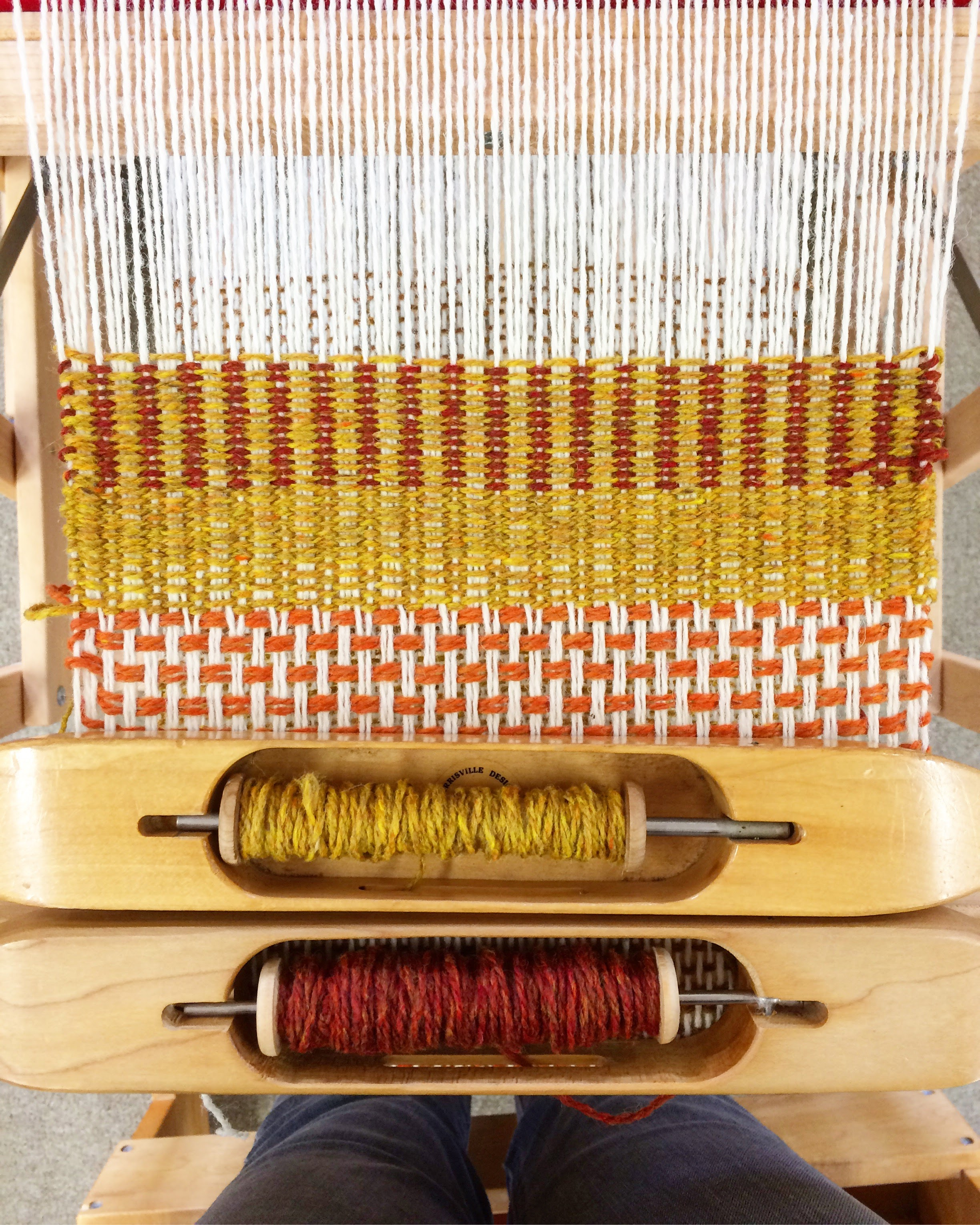 weaving class with tom jipson