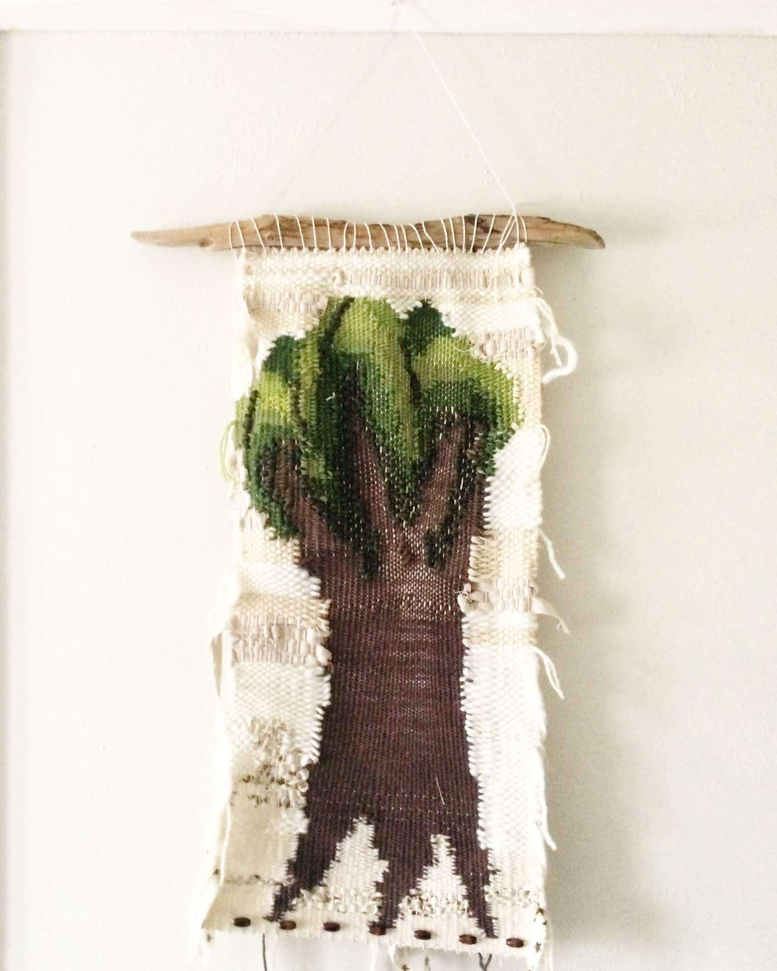 Growing a Tree: The Act of Weaving