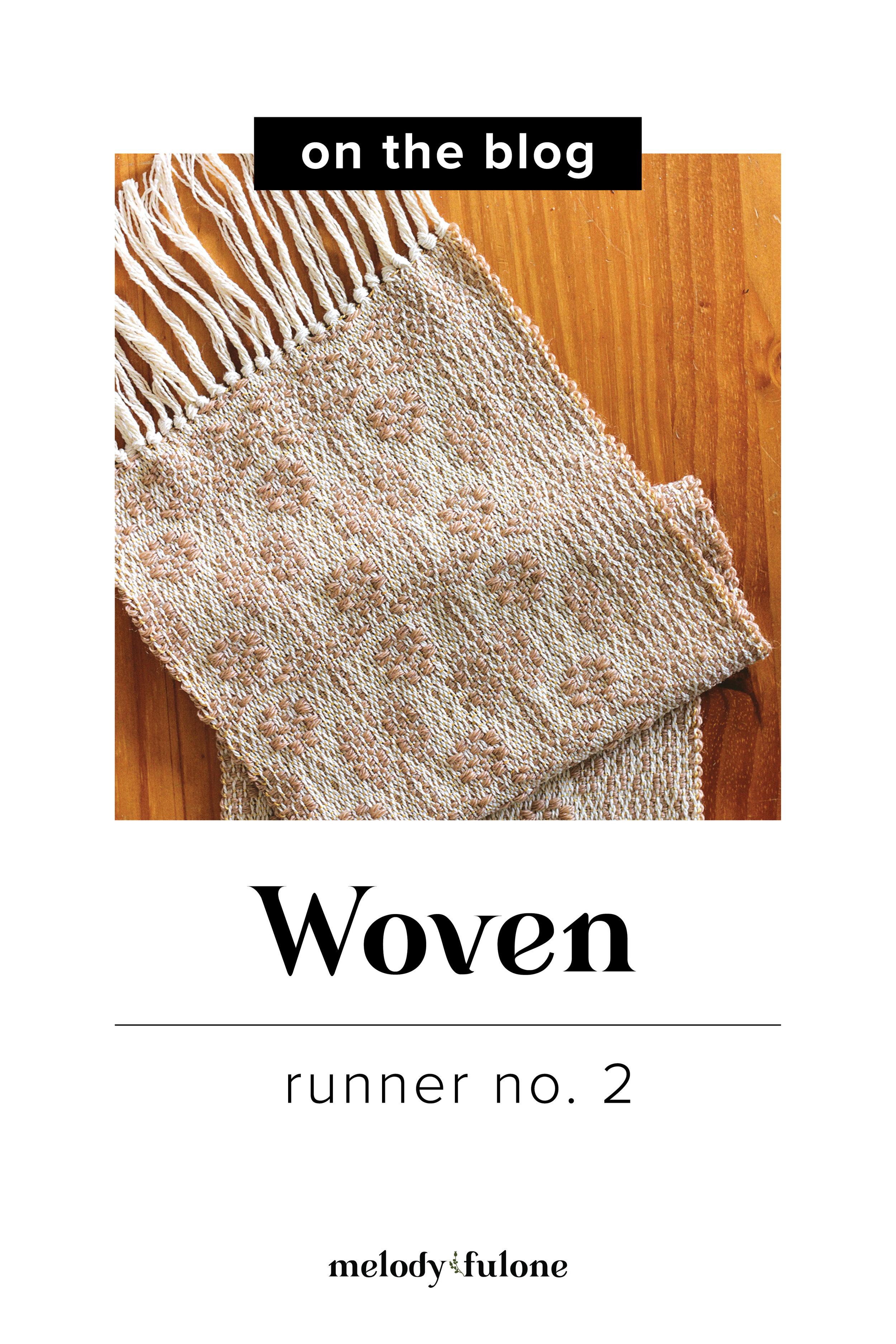 Woven Runner No. 2