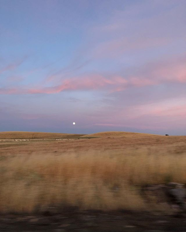 Views from last nights drive home.