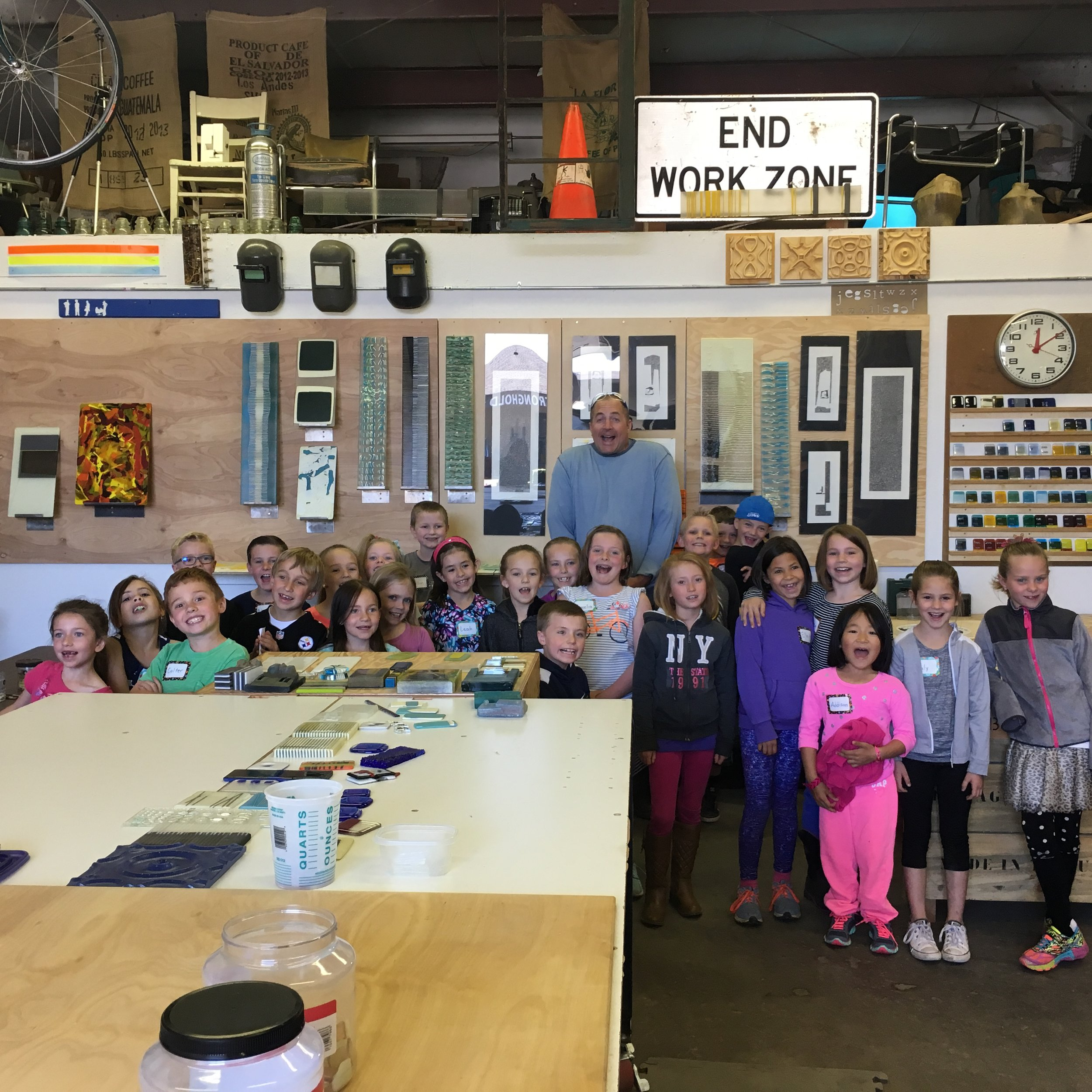 Monforton elementary School, 2nd graders - Bozeman, MT