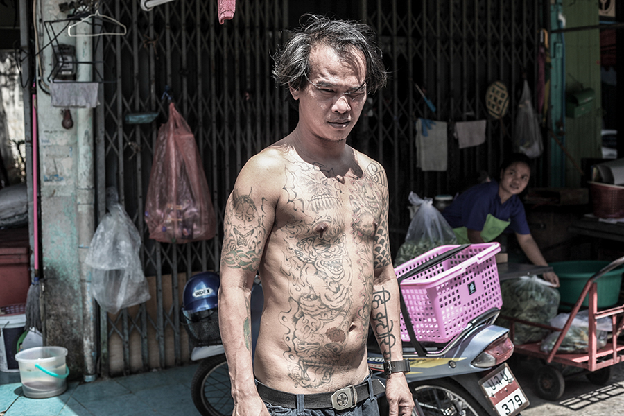 "Photo from Phil America's ""Nefarious Face of Chinatown"" Bangkok photo essay"