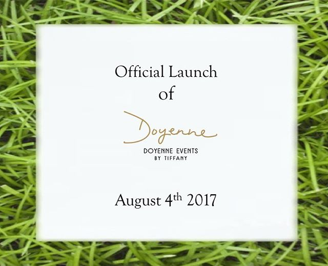 We're 1 week away from the official launch party of Doyenne Events! We're super excited to share with everyone everything we have to offer. #launchparty #events #eventplanner #summerlaunch #doyenneeventsbytiffany 💖🎉🎊