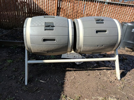 Compost bins from Costco
