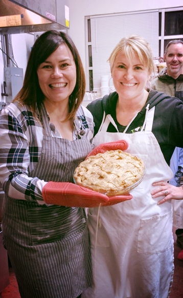 Pacific Pie owner, Sarah, was an awesome teacher!