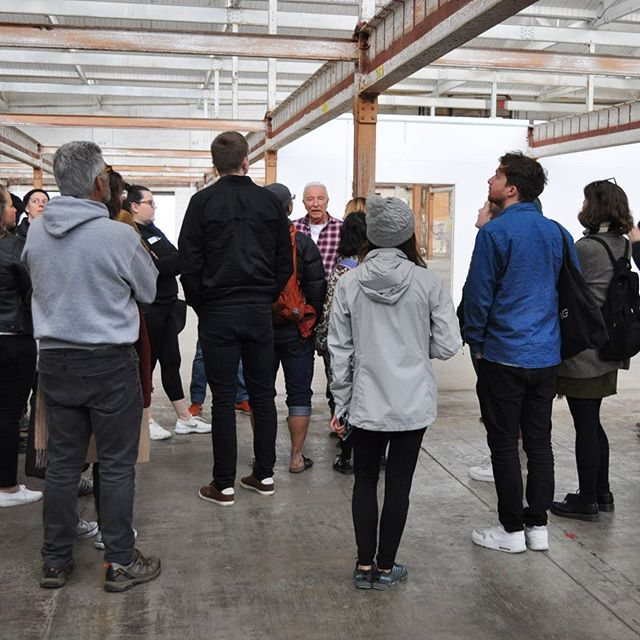 We had such a ball opening our doors to the public last month as part of @OpenHouseMelb. We hope you loved getting a sneak peek of the history and the wonderful things to come here at Younghusband.⠀ ⠀ A huge, huge thank you to the wonderful Vern and @woodsbagot for leading our guided tours and Impact Investment Group.⠀ ⠀ #Kensigngton #OpenHouse2019 #OpenHouseMelb #MelbourneArchitecture #WoodsBagot #Woolstore