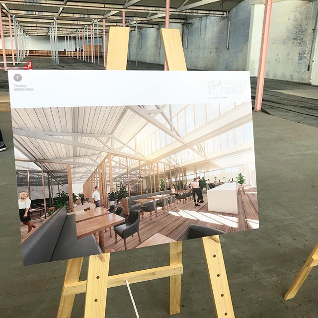 We can't wait to see the vision for this space come to life very soon. From wool and warehouse, to beautiful light-filled workspace.