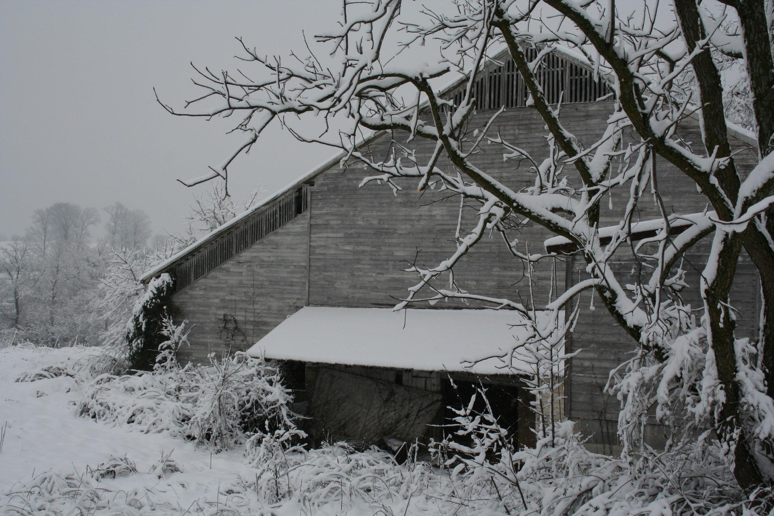 Abandoned Barn Johnson City, TN