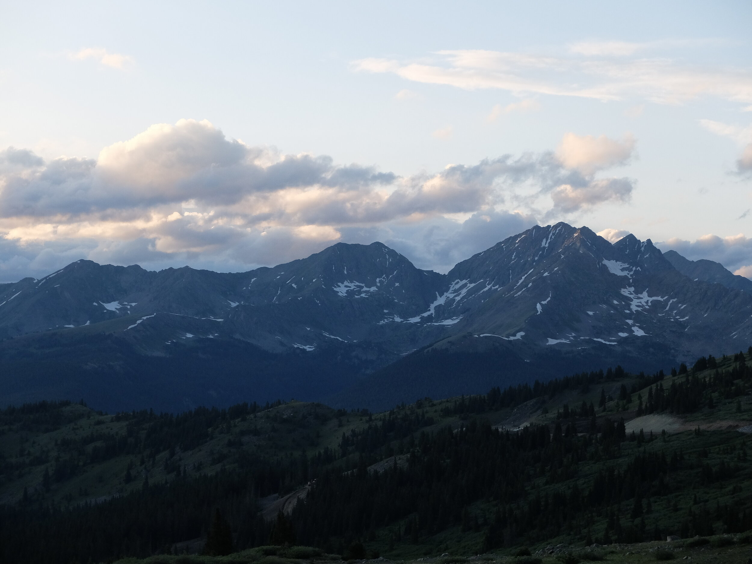 West side of the Sawtooths, from the Continental Divide