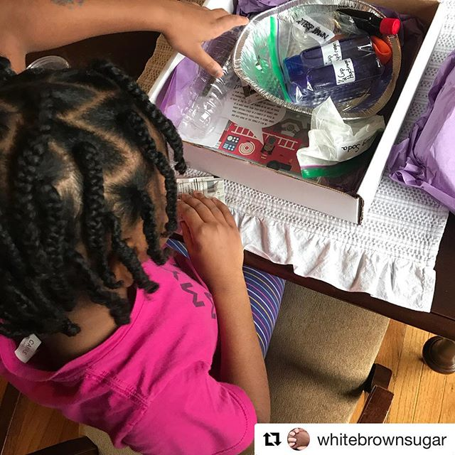 #Repost @whitebrownsugar with @get_repost ・・・ We were still down with the flu over the weekend, but thankfully our @beaconblackhistorybox arrived!  We learned all about Molly Williams. 🚒  While my oldest preferred the book, my second did all the enclosed experiments-activities.  Cheers to strong Black females and their accomplishments! 🖤 code BROWNSUGAR gets you 15% off a full size box now until March 10th! . . . #stem #steam #learning #sickday #blackhistorymonth #february #blackhistory #blackgirlmagic #blackgirljoy #whitesugarbrownsugar