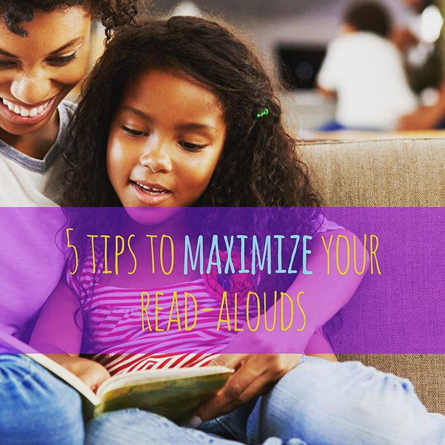 Simply reading aloud to your children expands their vocabulary, builds empathy and world awareness and teaches them reading fluency and comprehension. But there are things you can do to make these gains even greater. Check out these proven tips to maximize your read-alouds!  Peep my sister in action.  goo.gl/uAmi5n  #mybbhb #earlyliteracy #childrensbooks