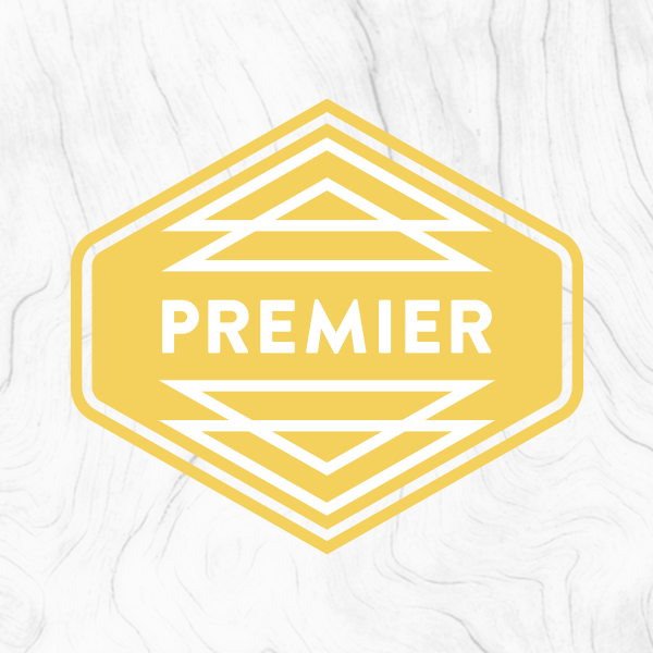 Premier package - Get the best of both worlds by bundling the Classic & Launch packages into one comprehensively designed brand identity.The Premier Package includes:• The Brand Build Process• Icon Series• Stationery Design• Social Media Brand Extension• Brand Launch Marketing Materials