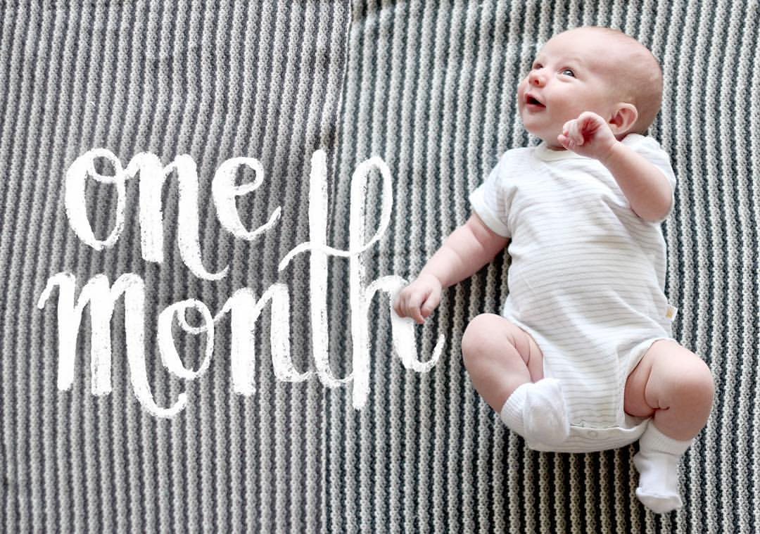 A one month old picture of the little girl who completely shook my world... in the absolute best way. Photo Credit: COOP Co Design