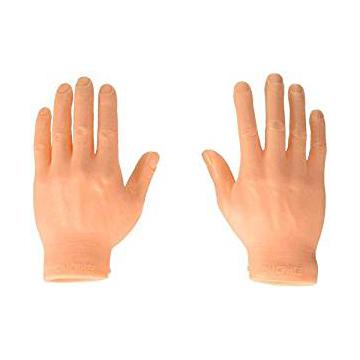 #1 – FINGER HANDS, SET OF 10