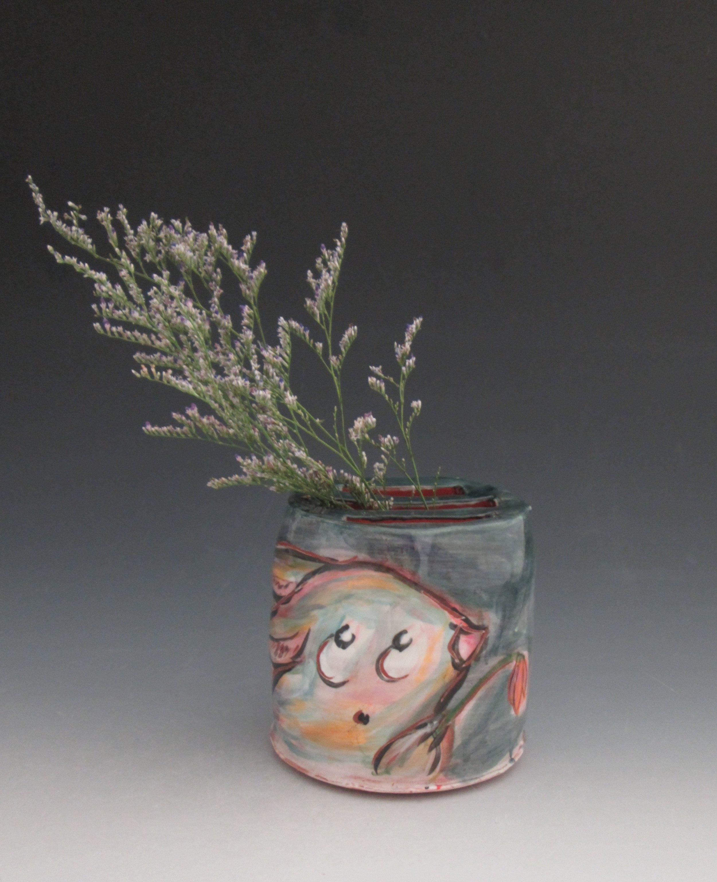Bunny flower box