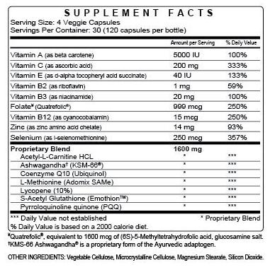 Coast male infertility supplement