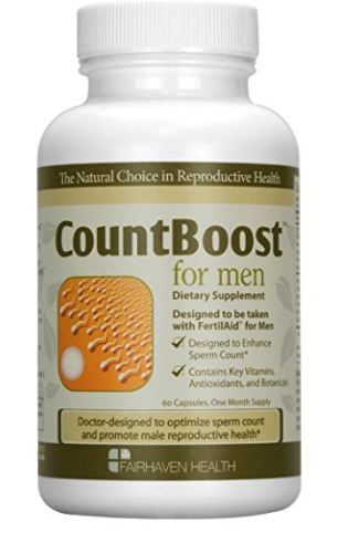 Count Boost male infertility supplement