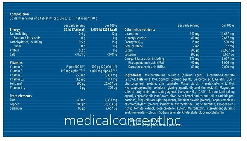 Fertil Plus male infertility supplement