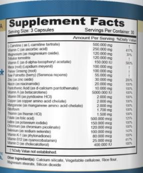 Mens Fertility Aid male infertility supplement