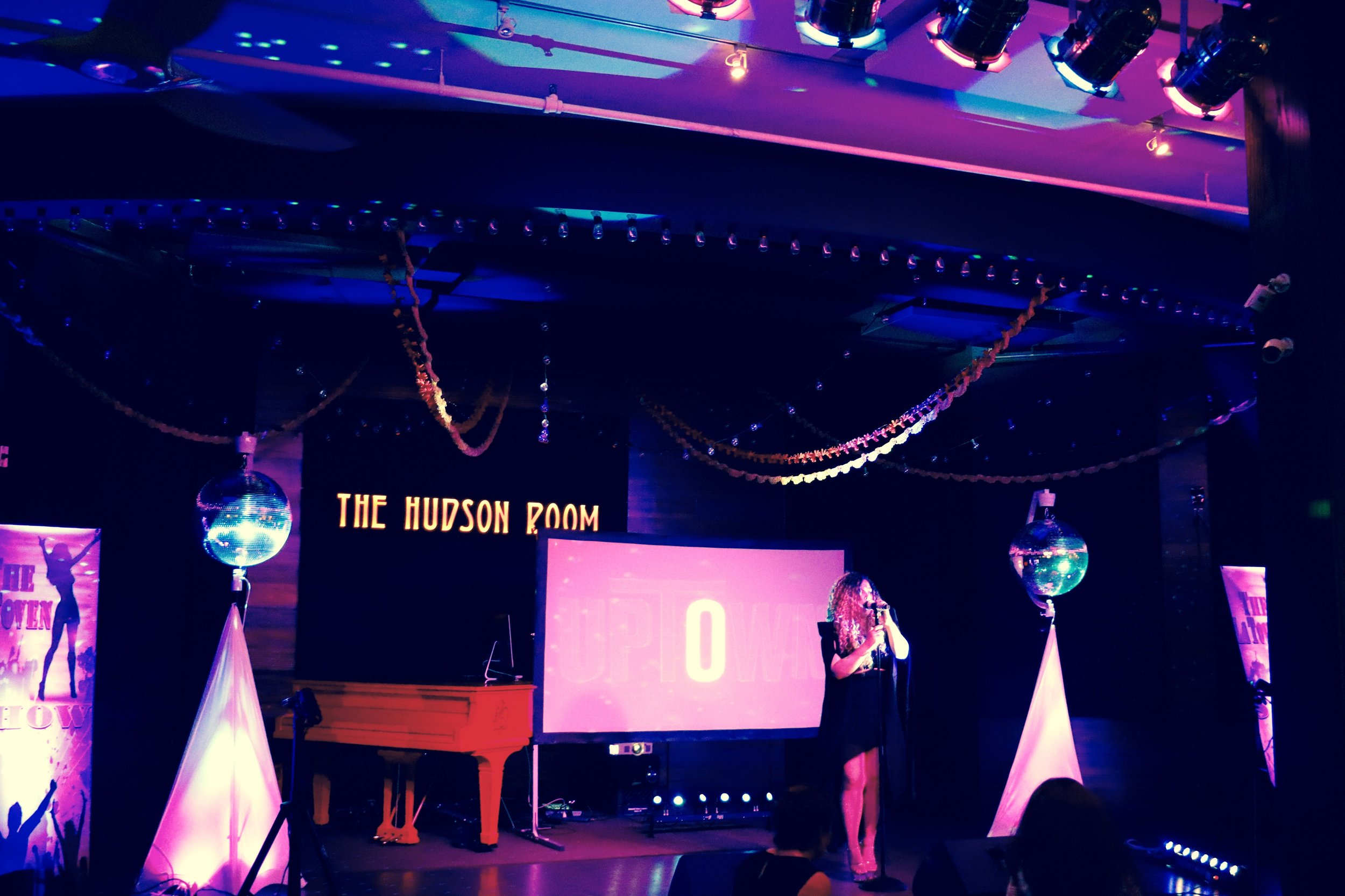 Our stunning Disco Glam Theme at The Hudson Room