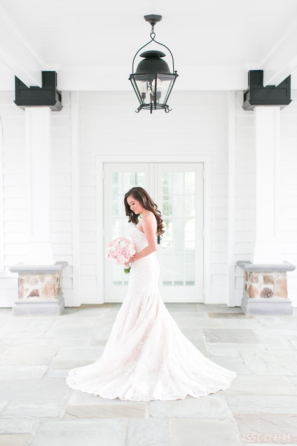 bridal portrait at the Ryland Inn