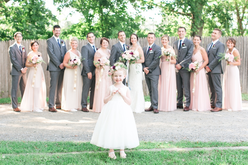 highlands country club wedding party