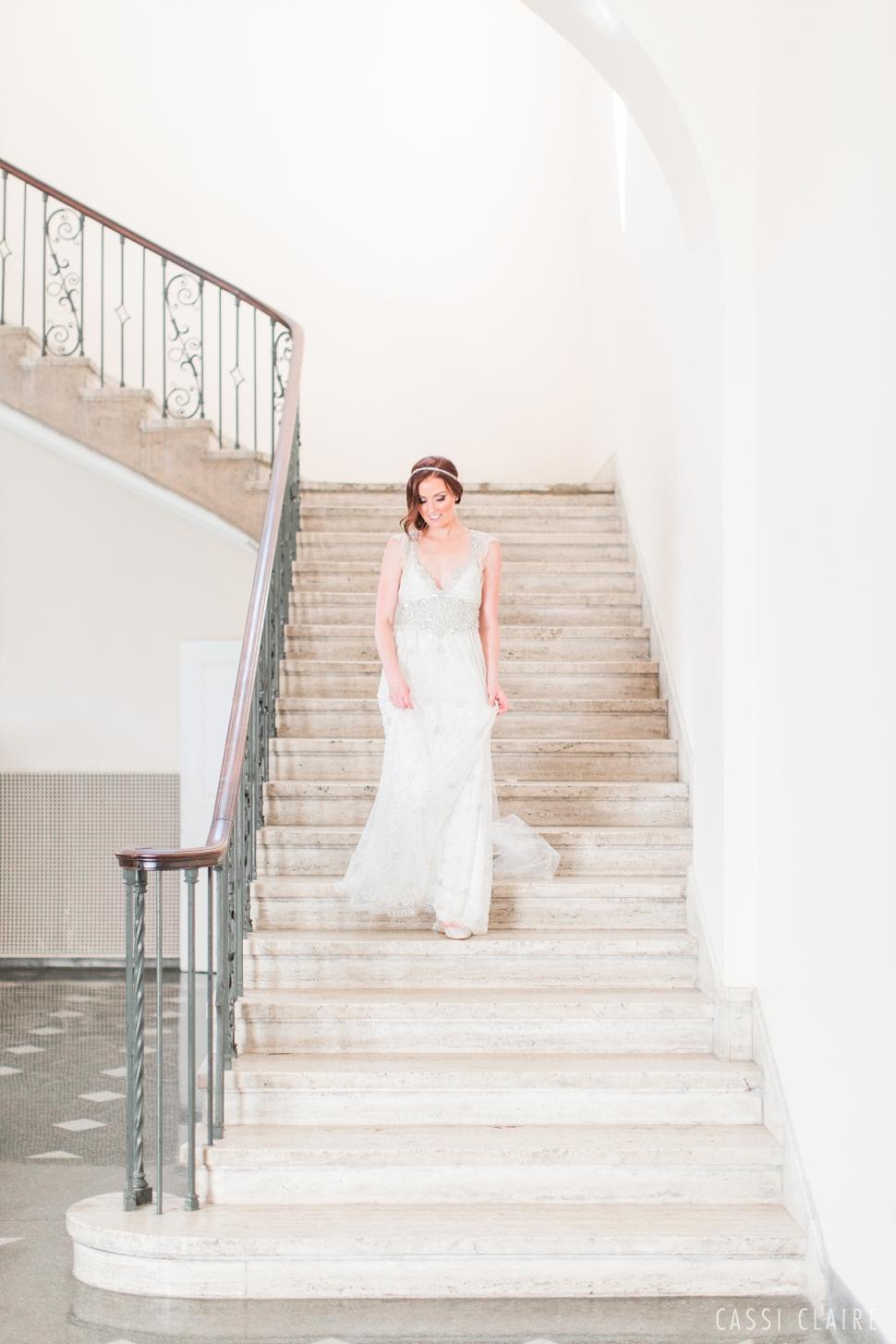 Manhattan College wedding bride