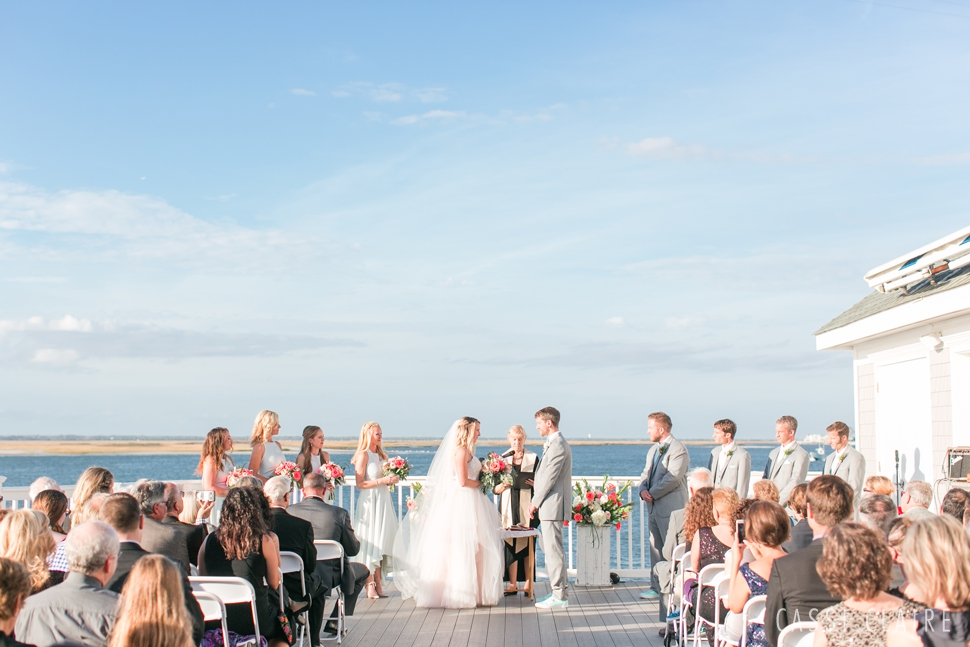 avalon yacht club wedding ceremony