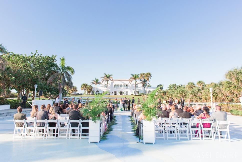 mansion at tuckahoe wedding ceremony