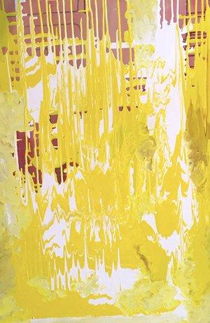 "Flow , 2015 acrylic on canvas 24"" x 18"""