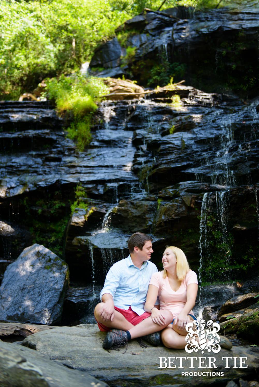 Kellan + Stephanie | Clemson Engagement | Issaqueena Falls-8.jpg