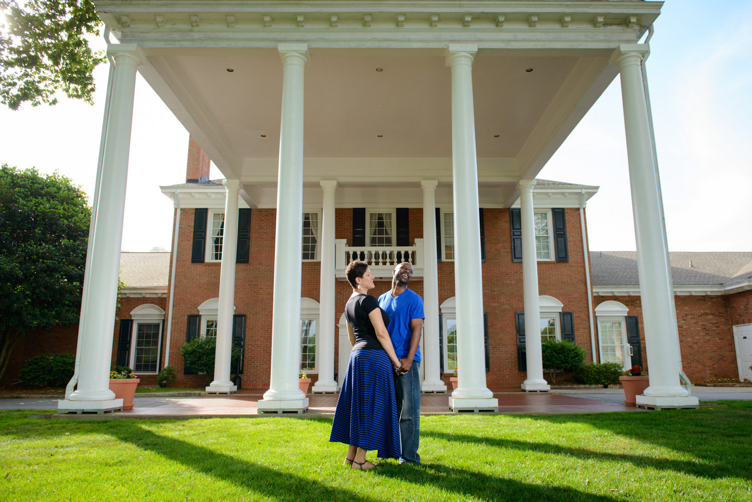 Simpsonville SC Holly Tree Country Club Engagement