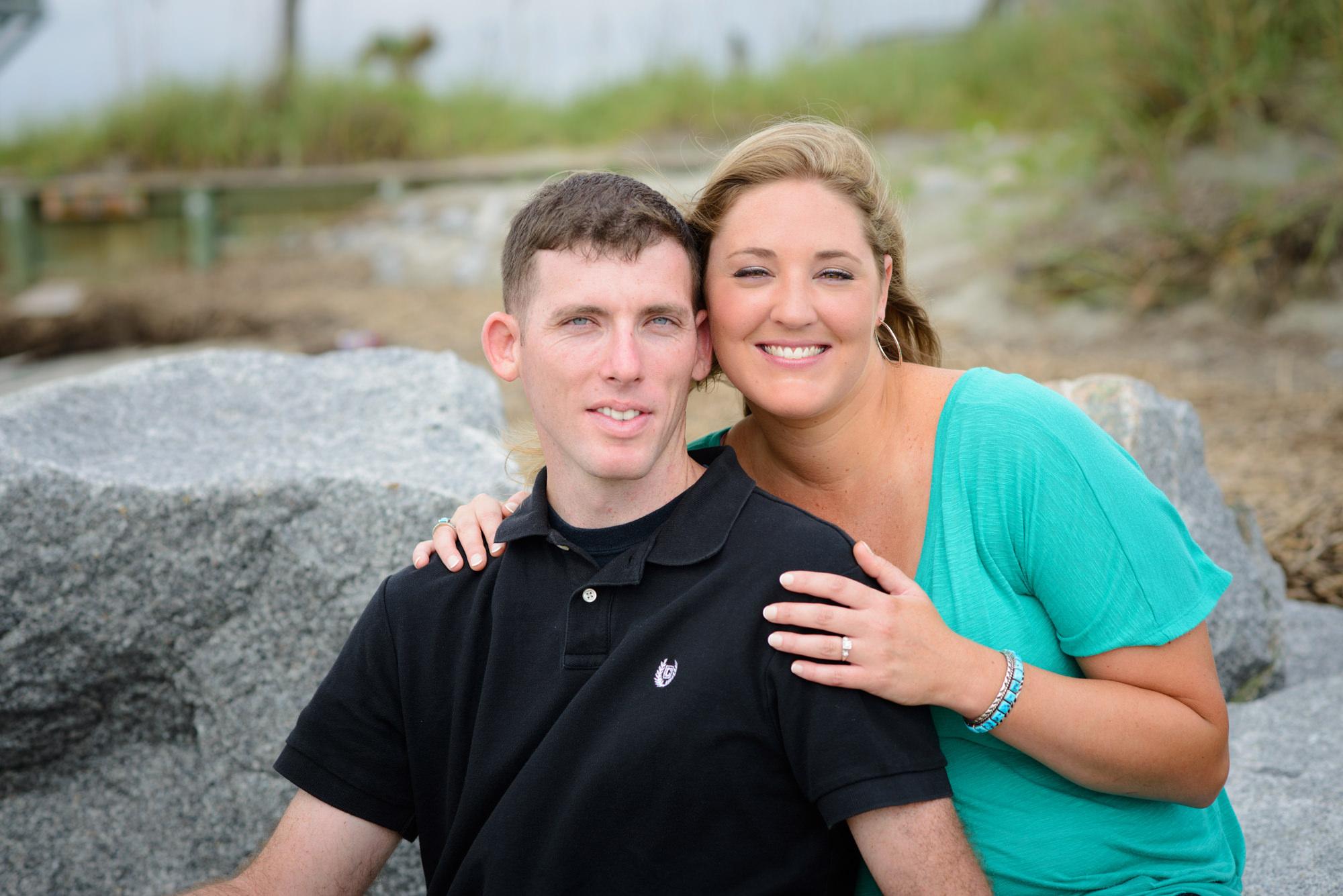 Charleston SC Beach Engagement