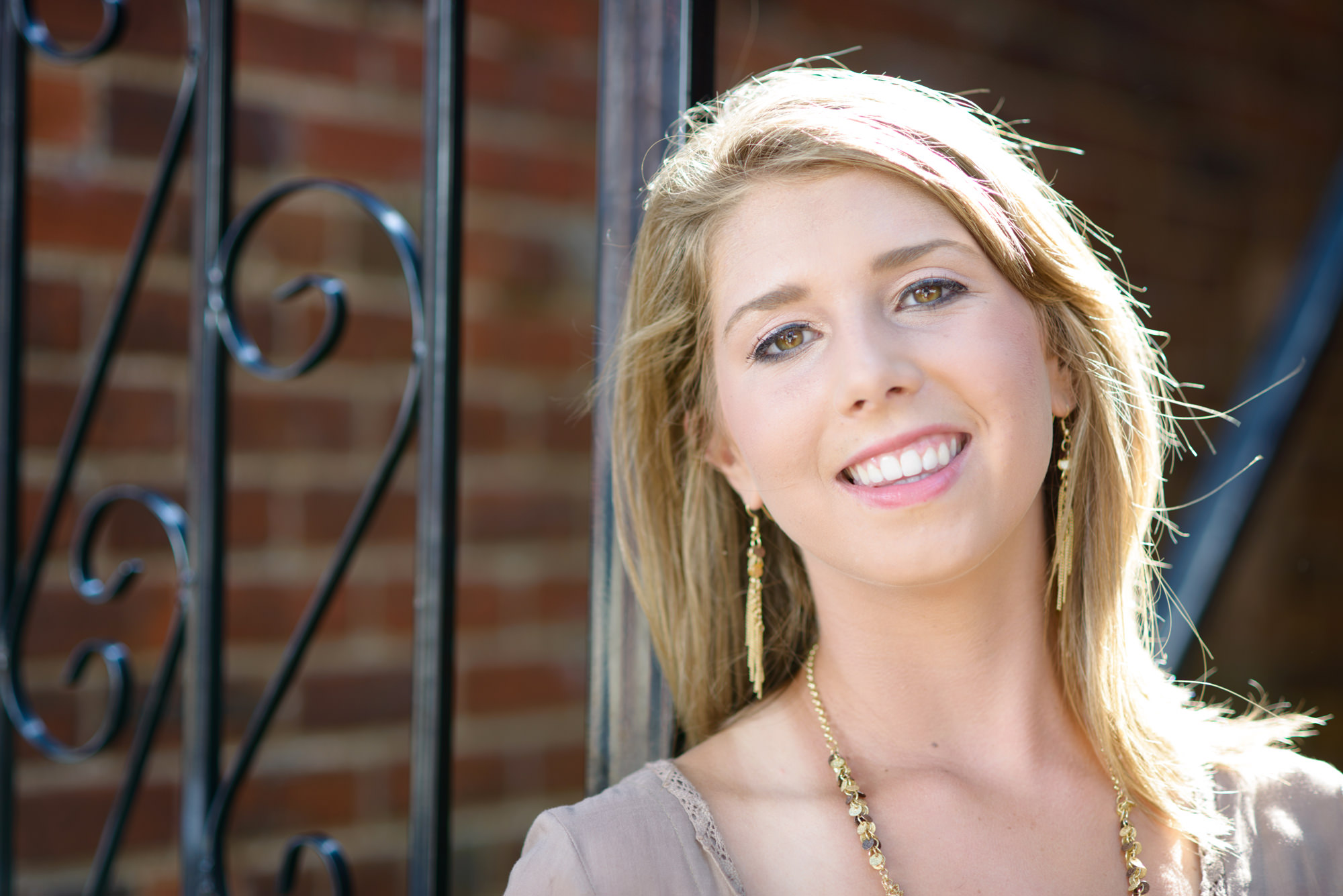 Greer SC Downtown Senior Portraits